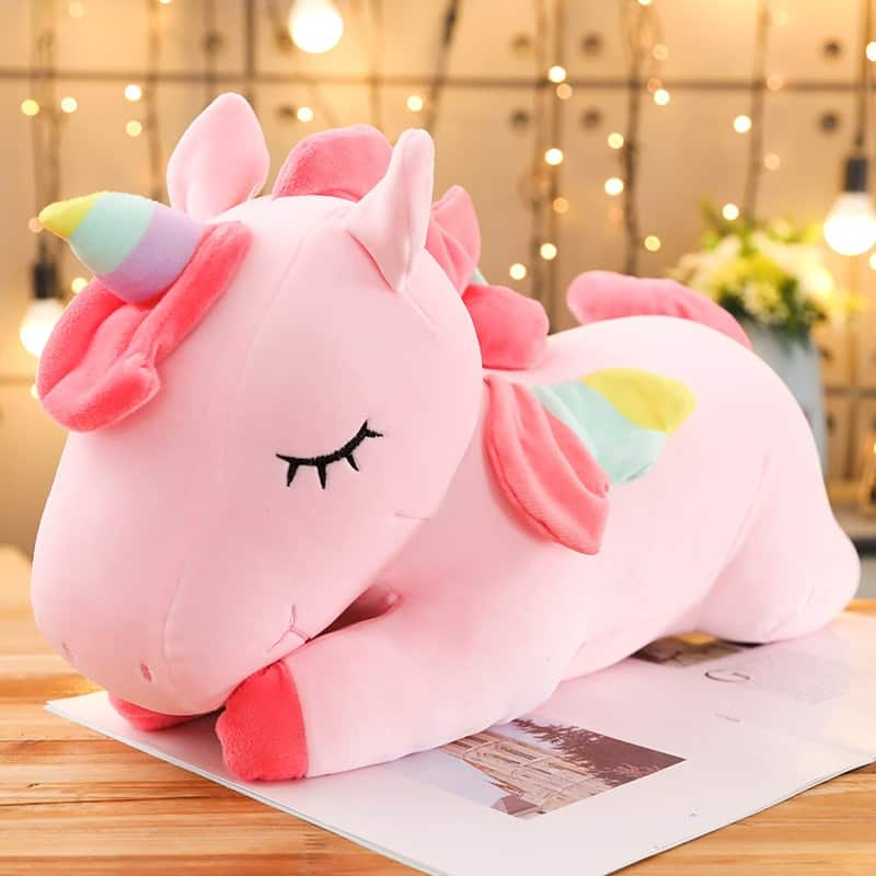 A stuffed animal sitting on a table